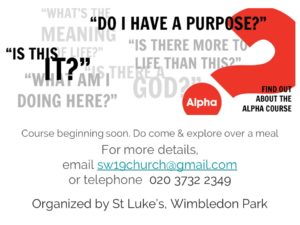 Alpha Course @ St Luke's Church