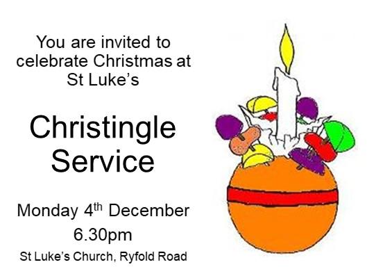 Christingle invitation 2017