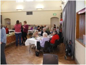 Senior citizens lunch @ St Luke's Church