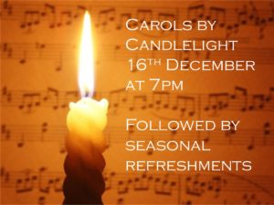 Candlelit Carols – traditional carol service
